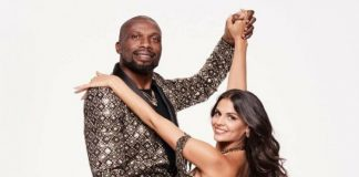 curtly ambrose dwts partner Siobhan Power